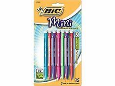Amazon.com: BIC Mini Mechanical Pencils Bic Mechanical Pencil .7mm 15 Pack: Office Products