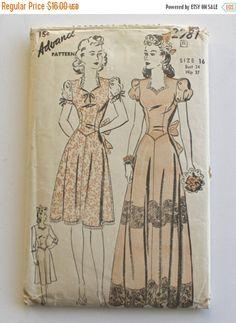 SALE Vintage 1940s dress . wedding bridesmaids by FoxyBritVintage