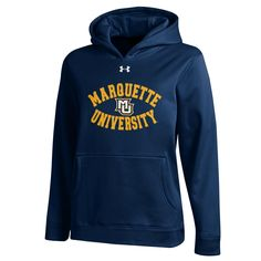 Item #13902 Youth Armour Fleece Hood Navy. By Under Armour $40. Stop in or call 414-288-3050 to order.