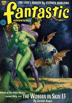 Fantastic Adventures - June 1952
