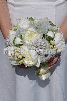 Shop Real Touch Ivory Peony & Berry Festive Christmas Wedding Bouquet online from Silk Blooms at just £ It is an online artificial wedding flowers store in UK. Christmas Wedding Bouquets, Silk Flowers, Bouquet Flowers, Green Wedding, Artificial Flowers, Peonies, Floral Wreath, Wedding Inspiration, Bloom