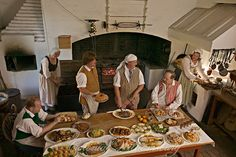 History is Served, Recipe Index from Colonial Williamsburg