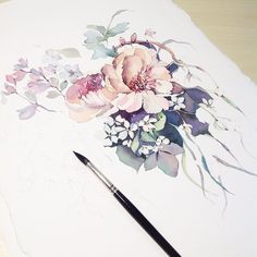 «#misha_illustration#illustration#flowers#draw#drawing#paint#painting#art#art_we_inspire#topcreator#artist#artgallery#art_help#watercolor#watercolour#акварель#живопись#цветы#botanical#botanicalart#botanicalillustration#watercolorpainting#workingprogress»