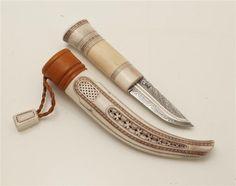 Half-Horn Knife Roland Lundberg Pitea