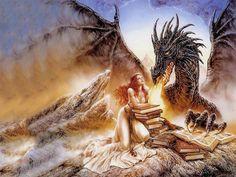 artwork by Luis Royo
