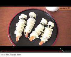 Mummy Ebi (shrimp tempura udon)