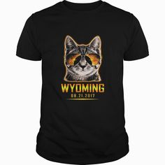 Cat Is Watching Wyoming #Total #Solar Eclipse 2017 TShirt, Order HERE ==> https://www.sunfrog.com//135953517-979318107.html?54007, Please tag & share with your friends who would love it, #jeepsafari #birthdaygifts #superbowl