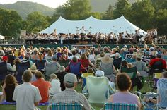 Minnesota Beethoven Festival annual outdoor concert. Winona, Minnnesota http://www.visitwinona.com