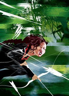 Hunger Games   Published in The New Yorker, April 2012 Jennifer Lawrence