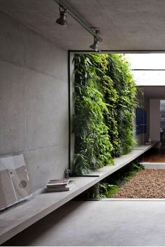 50 Green wall Design Inspiration is a part of our collection for design inspiration series.Green wall Design Inspiration is an inspirational series Outdoor Spaces, Indoor Outdoor, Outdoor Living, Outdoor Walls, Exterior Design, Interior And Exterior, Wall Exterior, Interior Garden, Casa Patio