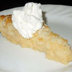 Mother's Day Pie - I like the idea that you don't need a crust for this desert. The ingredients are basic and something you would have in your pantry.