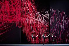 TIMELAPSE/(MNEMOSYNE)  Set Design for a ballet by David Dawson