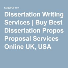 popular thesis proposal writers services usa