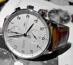 Buy IWC Watches from Johnson Watch Co, New Delhi. Experience the Swiss Watches from International Watch Company. Mens Designer Watches, Luxury Watches For Men, Iwc Watches, Cool Watches, Wrist Watches, Bauhaus Watch, Iwc Chronograph, Best Looking Watches, Watch Sale