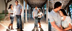 Downtown Grapevine Family Engagement Photography Session