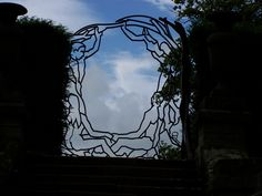 Chatsworth House - gate