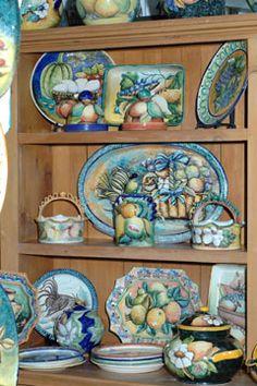Talavera pottery...visited factory in Delores Hidalgo