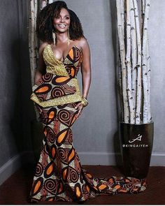 is an African fashion and lifestyle website that showcase trendy styles and designs, beauty, health, hairstyles, asoebi and latest ankara styles. African Dresses For Women, African Print Dresses, African Attire, African Wear, African Fashion Dresses, African Women, African Prints, African Style, Ankara Fashion