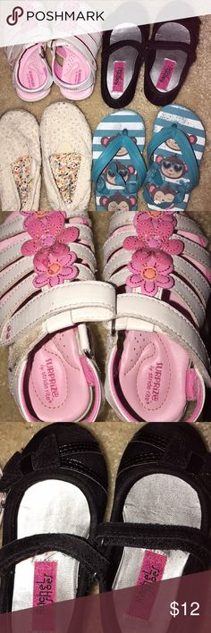 Size 7c little girl shoe bundle These are in good used condition! Bundle and save OshKosh B'gosh Shoes Sandals & Flip Flops