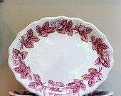 Wouldn't this blend perfectly with my Grandmother Rachel's Jenny Lind transferware I have?