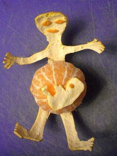 Denk ook altijd meteen aan foetussen als ik  sinaasappels eet.