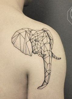Elephant Head by Bicem Sinik