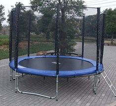 873d379b5cbe Skywalker Trampolines Summit 8  x 14  Rectangular Trampoline with ...