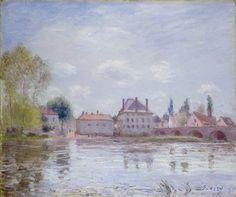 The Bridge of Moret-Sur-Loing, 1890. Alfred Sisley