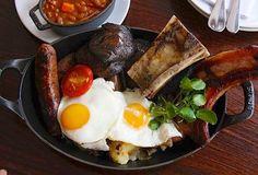 English breakfast. Yes, sir!