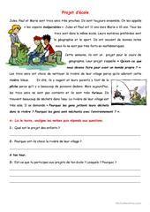 Pour la fête de papa - Texte - Lecture compréhension - Cm1 - Cm2 - Cycle 3 - Pass Education ...
