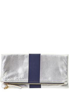 sporty stripe clutch #clarev