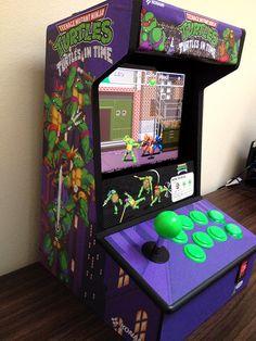 Alleycat Blues Arcade Table, Bartop Arcade, Arcade Stick, Mini Arcade, Video Game Man Cave Ideas, Arcade Machine, Slot Machine, Game Modding, Pitch Dark