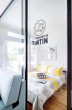 Casinha colorida: Uma casa para o Tintin