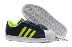 buy popular 6c96a a393e Buy Best Choice Adidas Superstar II Abrasion Resistant Mens Factory Outlets  Navy Blue Green Shoes TopDeals from Reliable Best Choice Adidas Superstar  II ...