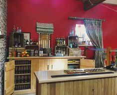 Our new bar complete. Beautiful oak all ready to be ginned up. #bar #oak #ginbar #party.....#weddingvenue #barnwedding #browsholme #lancashire #familyhome #sustainable #sustainabletourism #heritage #rural #tourism #historichouse #lancashire #history #ribblevalley #bride #weddingphotography #countryside #browsholmehall #rustic #wedding #tithebarn #farm #farmwedding