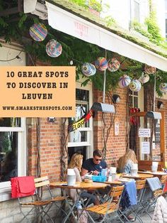 10 Great spots to discover in Leuven, Belgium - S Marks The Spots Blog