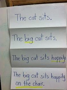 Expanding Sentences Activity :)