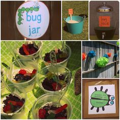 Creative Juices: bug party