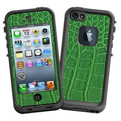 Green Gator #Skin for the #lifeproof #iphone5 and #iphone5s #Case by #Skinzy.com