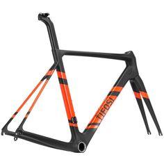 BRAND NEW Tifosi SS26 Aero Frameset RRP £999.99 Road Black Orange Medium Carbon | eBay