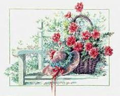 Lanarte - Цветы - Бесплатные схемы вышивки крестом