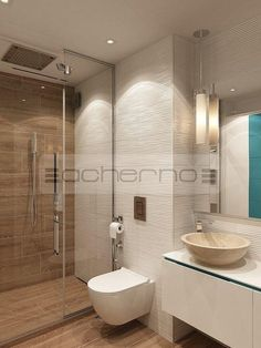 Love the wooden tiles!