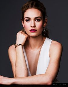 Lily James Photoshoot 2015