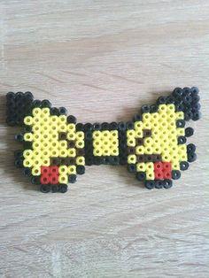 Noeud Pikachu (Pokemon) de la boutique PixelsMarnia sur Etsy