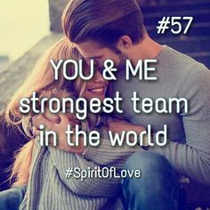Strongest love ❤️ yes... the rest I don't know