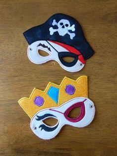 Pirate Princess Pirate Embroidery Machine by NewfoundApplique, $6.99