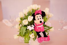 Christening, Minnie Mouse, Christmas Ornaments, Holiday Decor, Disney Characters, Home Decor, Art, Art Background, Decoration Home