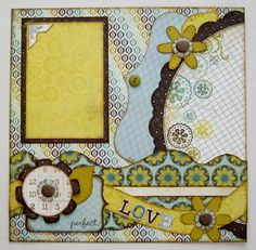 kiwi lane - I love this idea from Kiwi Lane and have used it a lot in my pages. Scrapbook Designs, Scrapbook Sketches, Scrapbook Page Layouts, Card Sketches, Scrapbooking Ideas, Wedding Scrapbook, Disney Scrapbook, Scrapbook Cards, Baby Mini Album