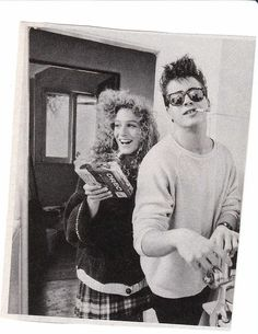 That time when Robert Downey Jr. and Sarah Jessica Parker were a serious thing.