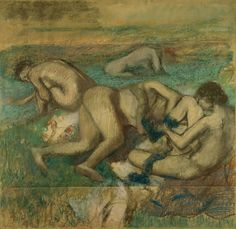Edgar Degas, The Bathers